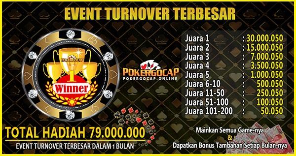 Event Poker Online Terbesar