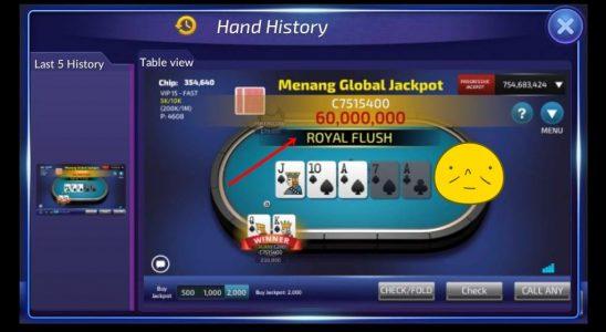 Trik Jackpot Super Royal Flush Judi Poker Online